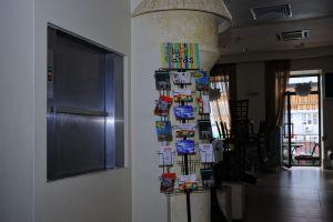 """2006 год. Ресторан """"Яффо"""", ул. Миронова, г. Днепропетровск. Один кухонный лифт SKG."""